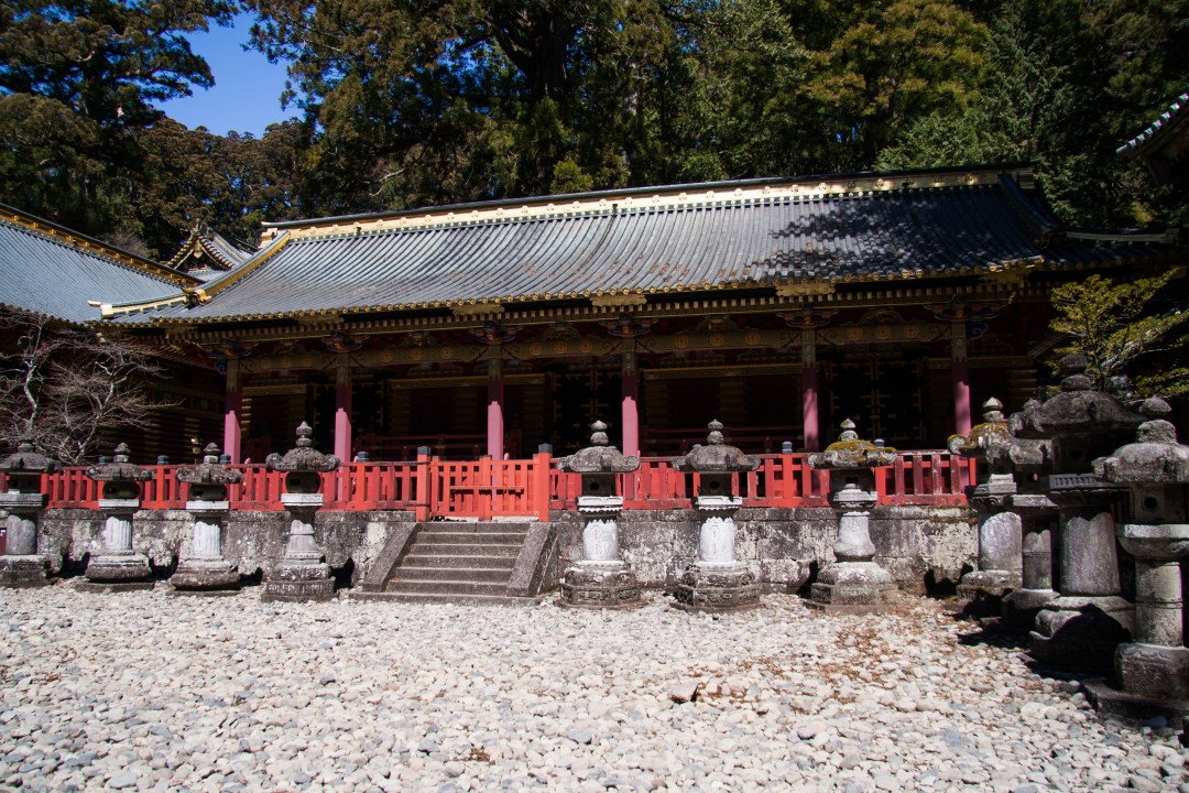 One of the three sacred storehouses.