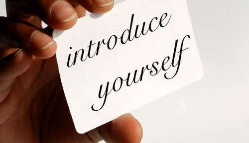 Introduce your self is strategic in networking
