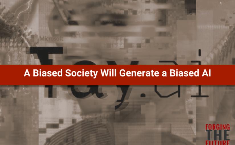 Una società discriminatoria avrà una IA discriminante