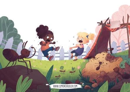Illustration - Too many Ants