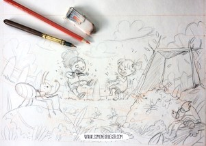 Sketch - Too may Ants
