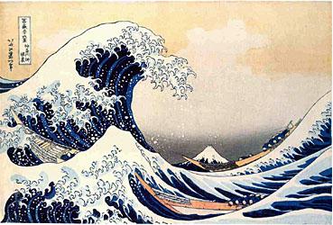 La Grande Onda di Katsushika Hokusai