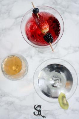 Cocktails glazen