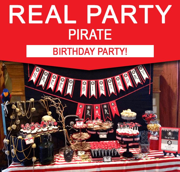 Pirate Party Printables Simonemadeit Com