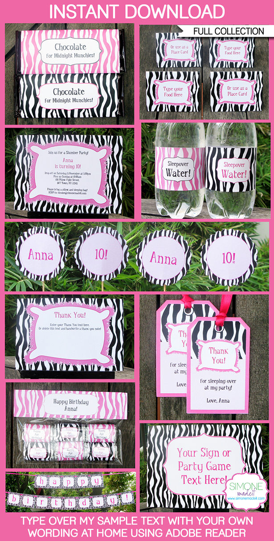 Printable Invitations Dltk