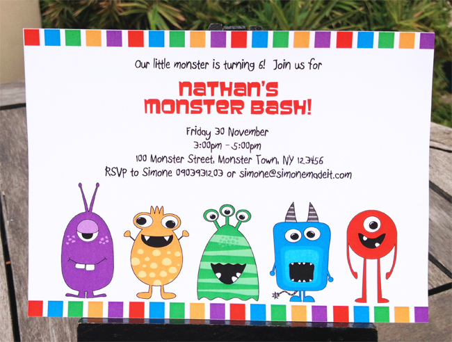 Monster High Birthday Invitation Printable Party Invite You Print Templates Simply Open The File And Start Typing Over My Sample Text