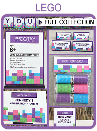 Lego Friends Party Printables Invitations Amp Decorations