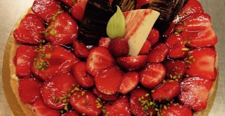 tarte fraise frangipane Hincker