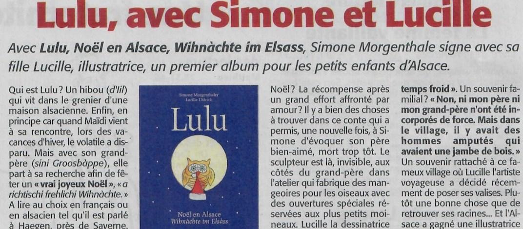 Lulu article Ami Hebdo bandeau