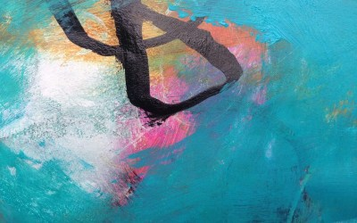 Five minute painting: forgetting about time