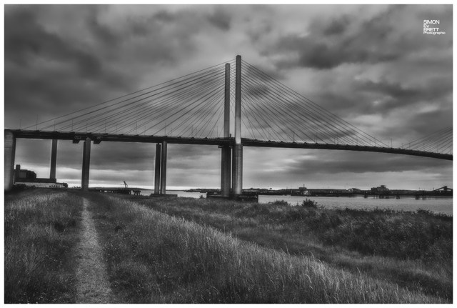 Dartford bridge in kent