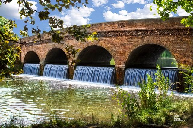 Five arch Bridge in kent