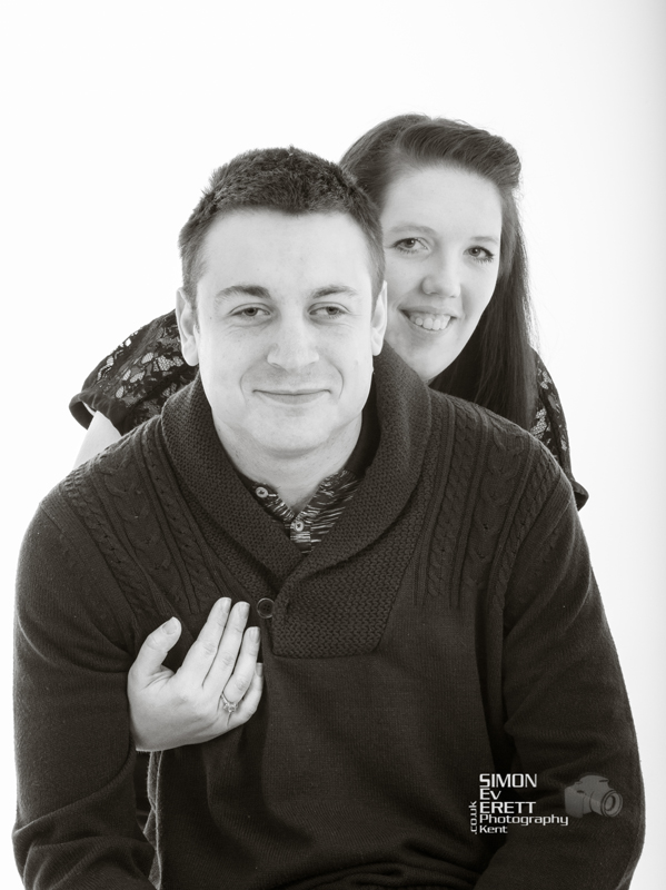 Couples valentine Studio Shoot