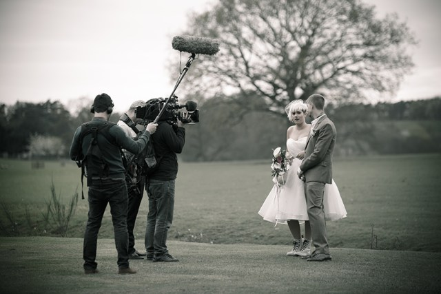 Wedding of David & Elle for BBC 3 Dont tell the Bride
