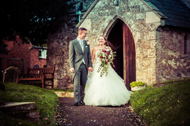 Charley & Dan Allhallows wedding