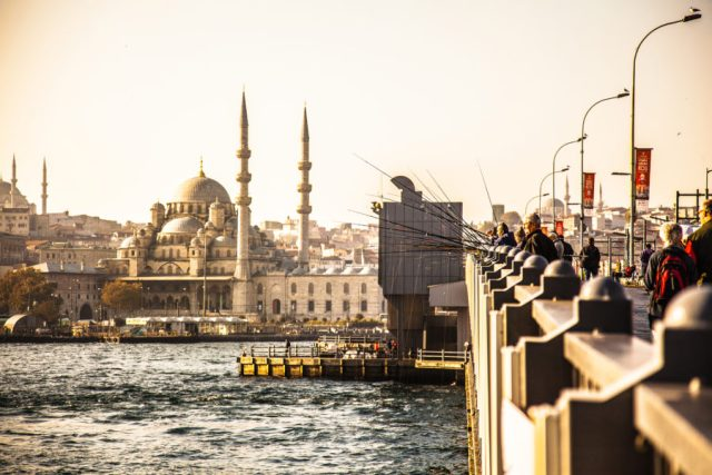 River crossing istanbul