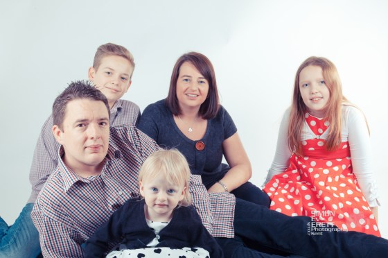 Family Studio Shoot Kent