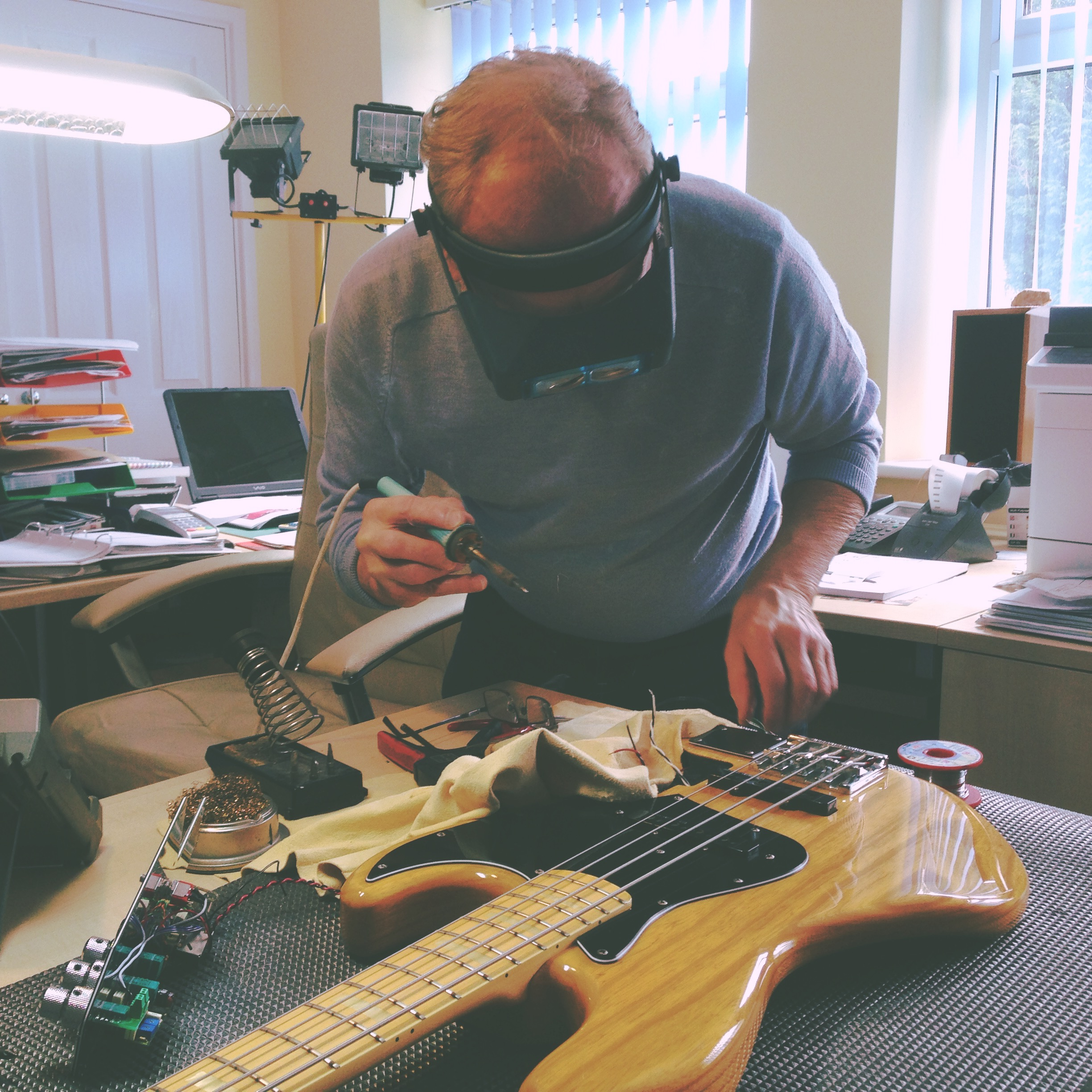 Pimping My Bass With John East, Part I | Simon Little