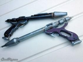 Twin 'Westar' Blaster Props