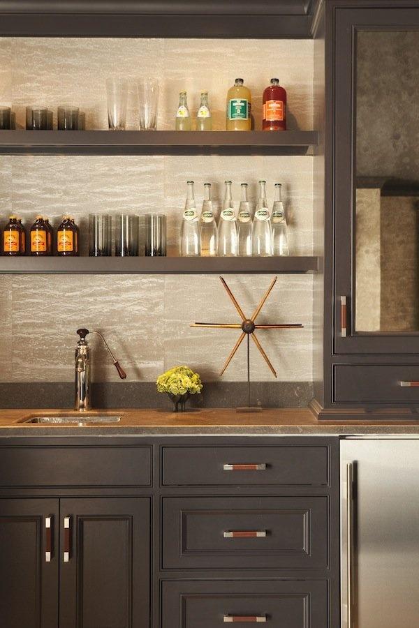 Built Cabinet Bar Ideas
