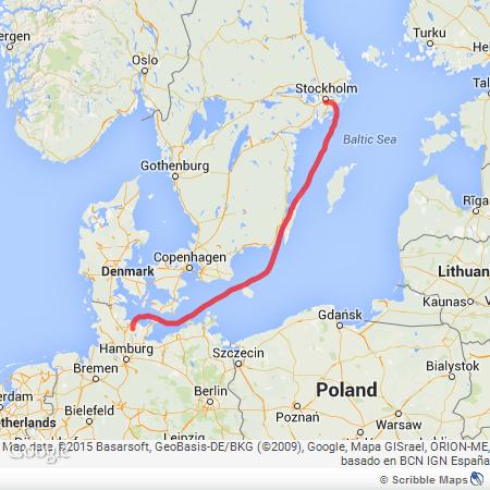 Sweden route