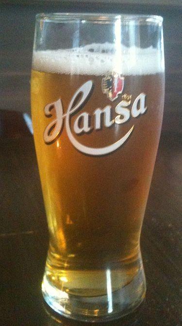 Hansa lager beer