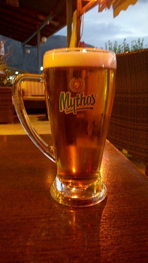 Mythos beer greece