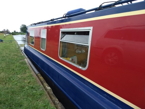 Polished narrow boat