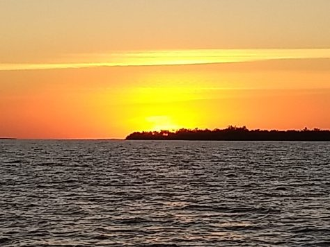 Sunset Cayo levisa