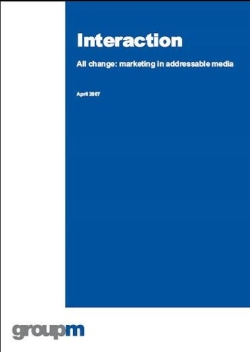 Interaction - all change: marketing in addressable media
