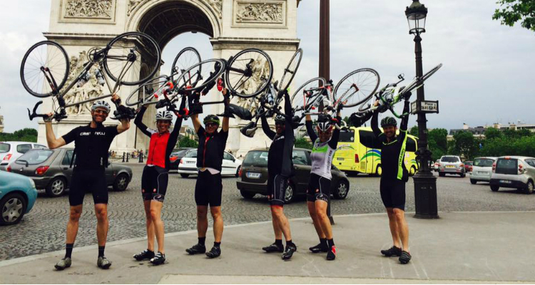 Arc de Triomphe finish