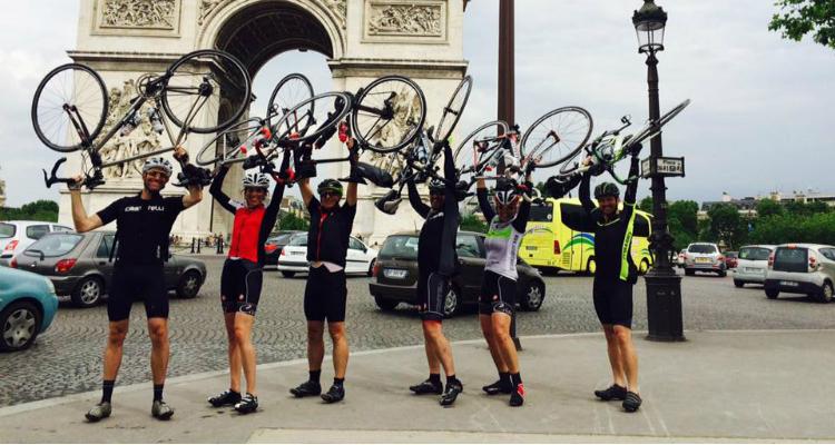 Arc de Triomphe finish