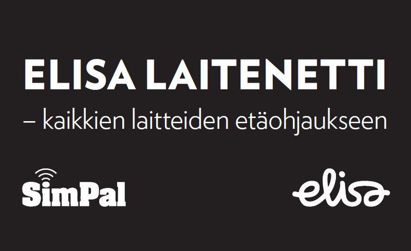 Elisa Laitenetti SIM-kortti SimPal tuotteiden mukana
