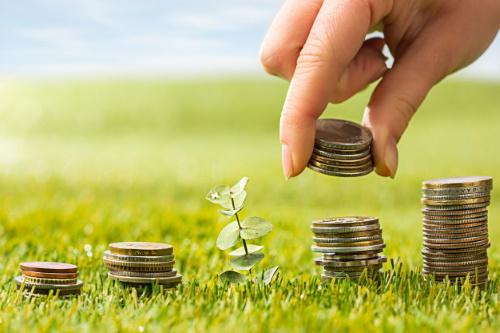 Simpatia da moeda da abundância e do dinheiro