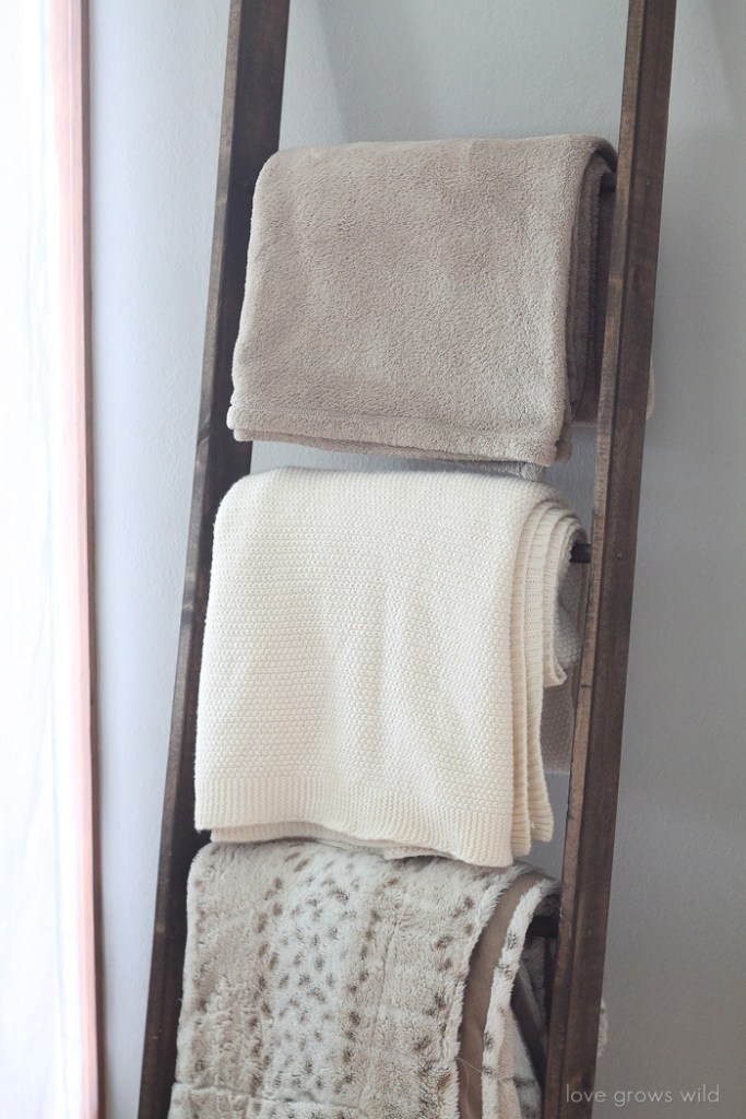 simphome blanket ladder
