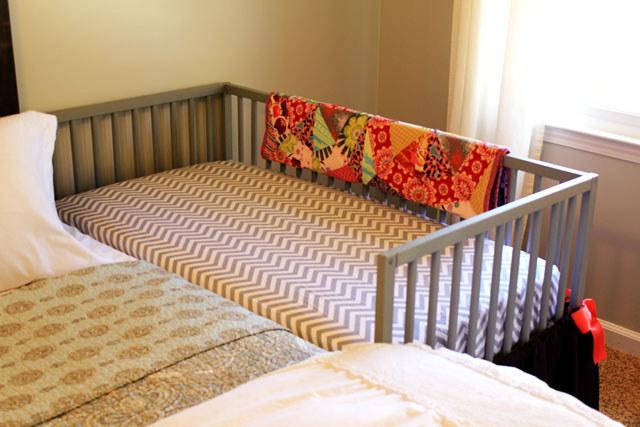23 Turn an Ikea crib into a co sleeper via simphome