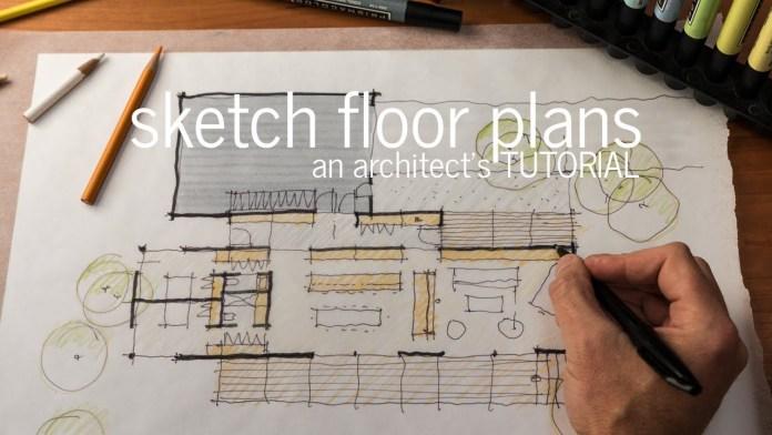 rough floor plan