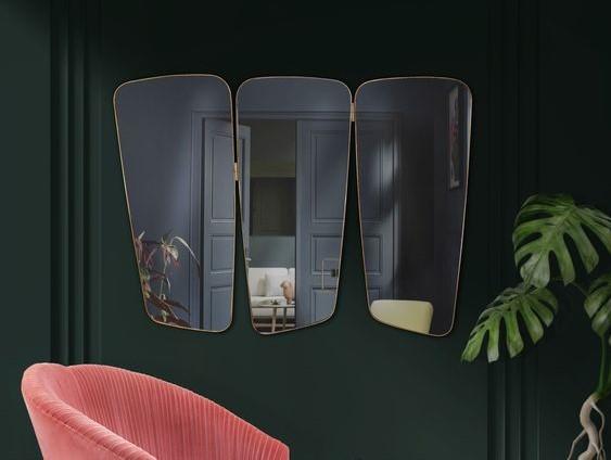 13 three panel mirrors