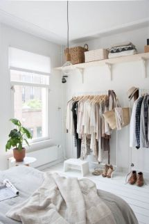 3 Keep The Clothes In An Open Shelves Via Simphome com 1