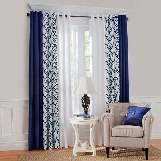 change curtains