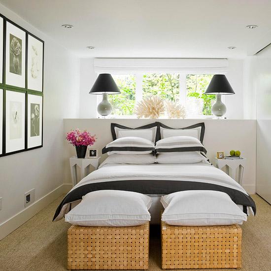 simphome narrow bedroom