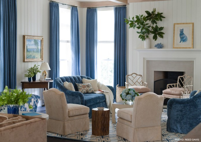 simphome rustic family room