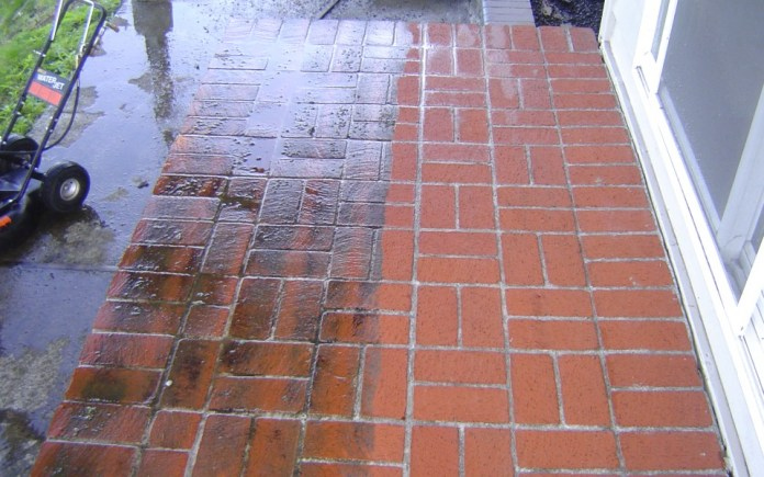 simphome pressure washer before after