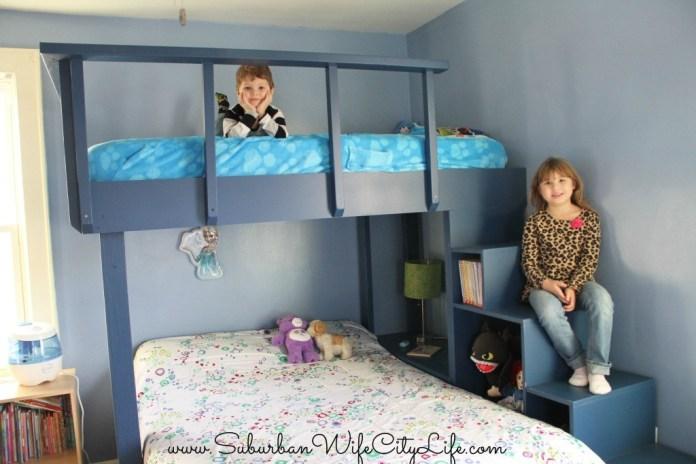 DIY bunk beds 2 Simphome com