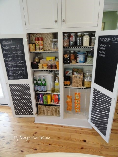 3 Pantry with Chalkboard Simphome com