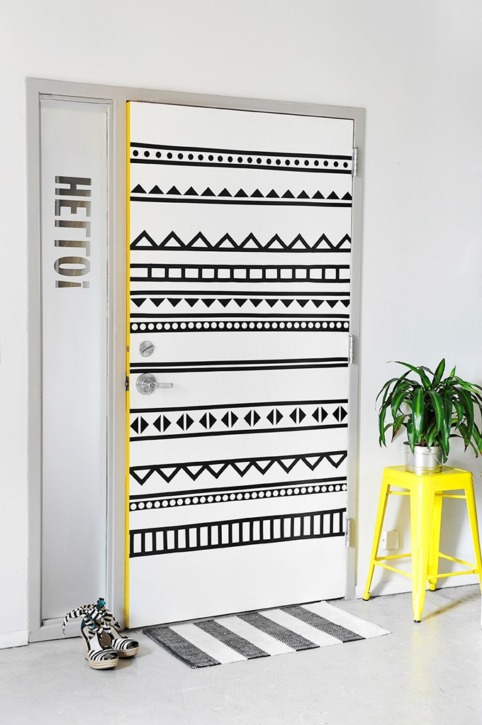 3 Stylish Electrical Tape Door Simphome com