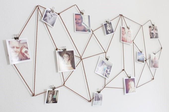 5 Spider Web Photo Hanger Simphome com