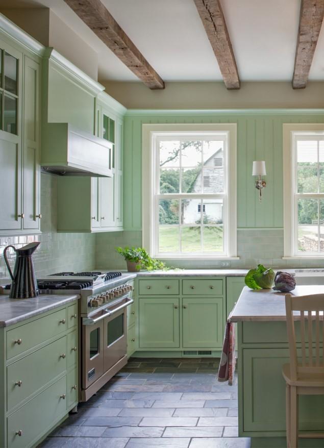 9 Classic Green Kitchen Simphome com