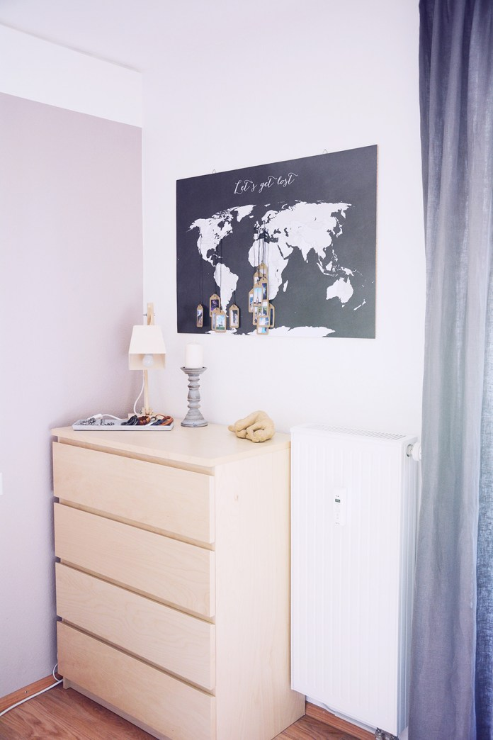17 DIY Interior Tagging a World Map with your favorite Picture simphome com