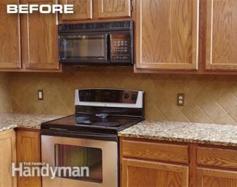 5 Refacing Cabinets using Wood Veneer 2 Simphome com